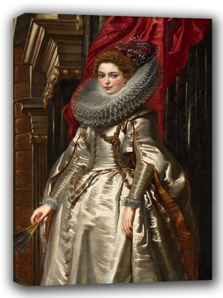 Rubens, Peter Paul: Marchesa Brigida Spinola Doria. Fine Art Canvas. Sizes: A4/A3/A2/A1 (002125)
